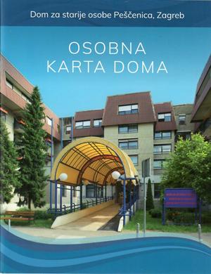 Naslovnica publikacije osobna karta Doma