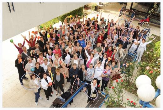 Milenijska fotografija Doma Peščenica